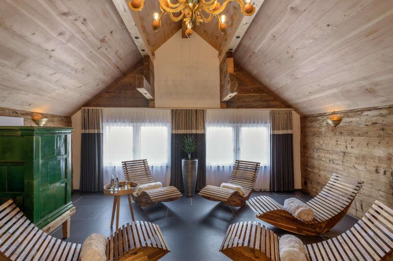 Wellnesswochenende in der Schweiz im Appenzell - Boutique Hotel Bären Gonten - Ruheraum