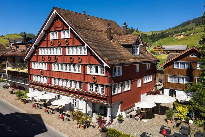 Wellnesswochenende in der Schweiz im Appenzell - Boutique Hotel Bären Gonten