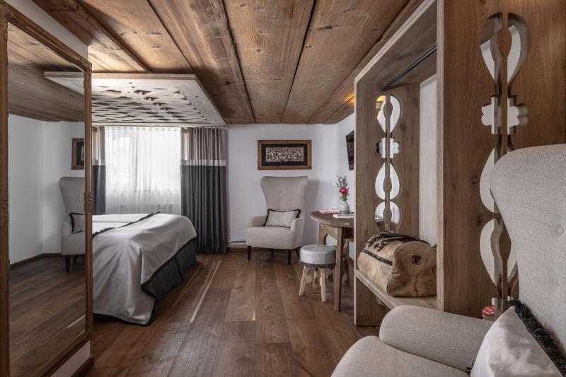 Wellnesswochenende in der Schweiz im Appenzell - Boutique Hotel Bären Gonten - Doppelzimmer originell